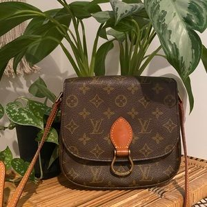 Authentic Vintage Louis Vuitton Saint Cloud MM